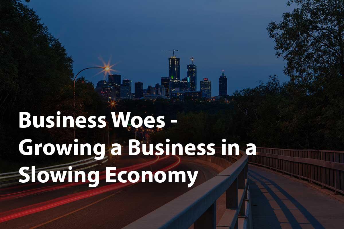 how to grow a business in a slow economy