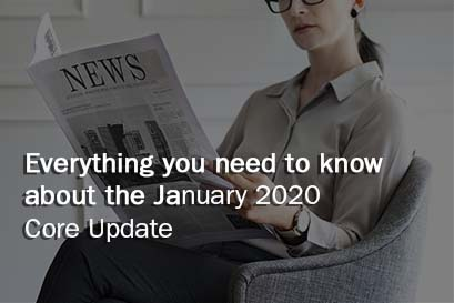 Imminent Google Update, January 2020 Core update.